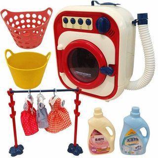 🍒現貨🍒仿真兒童玩具洗衣機