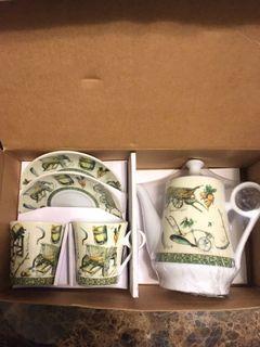 茶壺杯盤組