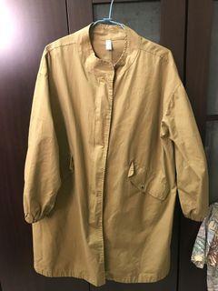 古著長版外套