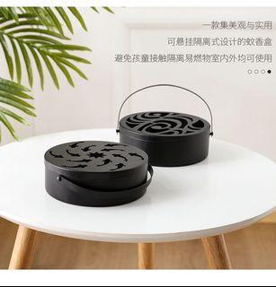 鐵藝造型可手提防燙蚊香盒