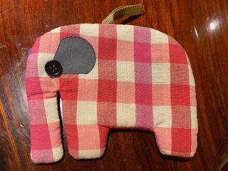 手工製作大象萬用包