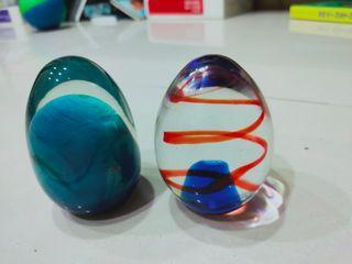 玻璃裝飾品(雞蛋形狀)