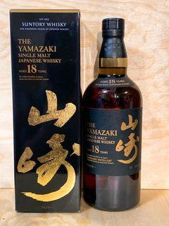 「需訂貨」山崎 18年 稀有 The Yamazaki 18 The Founding House of Japanese Whisky  700 ml 要訂