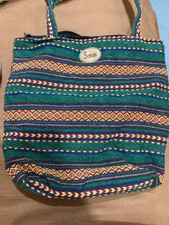《二手特賣》馬來西亞沙巴圖騰肩背包 手提包