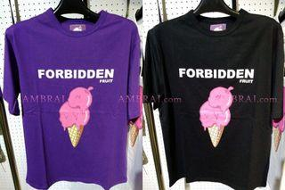 【AMBRAI.com】 Forbidden Fruit Ice Cream Cone 禁果 甜筒 冰淇淋 短T Tee AES 黑 白 紫 黃鴻升 remix 工裝