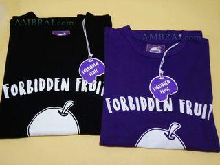 【AMBRAI.com】 Forbidden Fruit Outer Logo 禁果 骷髏 短T Tee AES 小鬼 黃鴻升 黑白紫 remix 工裝