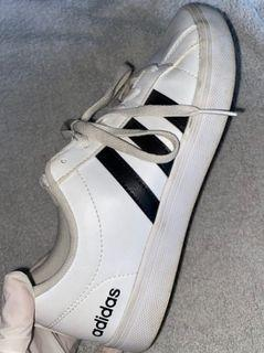Authentic, Adidas Black And White Shoes Size-5.5