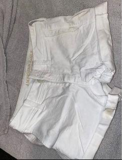 Authentic, American Eagle White Shorts Size-6