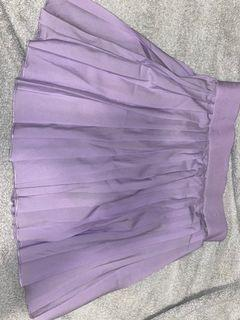 Authentic Lavender Glassons Tennis Skirt Size-6