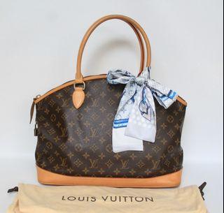 Authentic Louis Vuitton Monogram Lockit Horizontal-Excellent