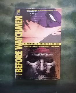 Before Watchmen Graphic Novel