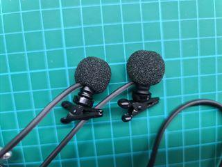 Binaural Microphone Set by Core Sound with Switchable Bass Roll-off Filter