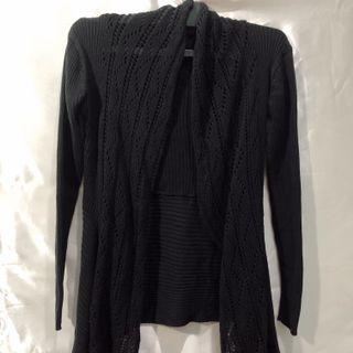 Black lace cardigan🤍🖤 (free ong)