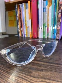 blue style sunglasses
