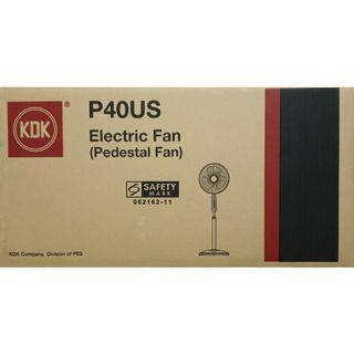 "BRAND NEW KDK 16"" Stand Fan P40US"