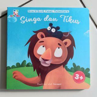 Buku Cerita Anak Singa dan Tikus