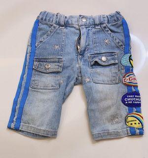 Celana jeans anak cewe 1-2 tahun