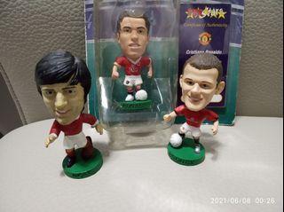 Corinthian Prostar figures Manchester United C.Ronado, George Best & Roony 英超 曼聯 C朗拿度 佐治貝斯 朗尼