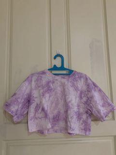 Crop Top lilac