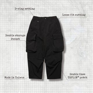 "GOOPI ""P-W.3D"" Double knee Military Pants"