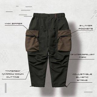 GOOPI X WISDOM II - W.EX-T 3D cargo pants