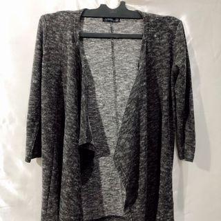 Grey cardigan by sinsai (free ong)