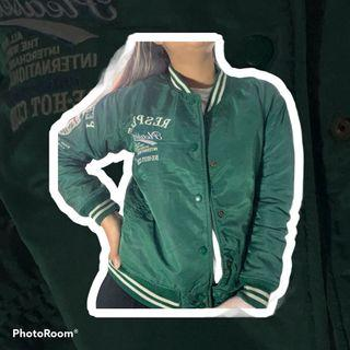 Jacket boomber green