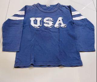 Kaos anak laki size 4-5 tahun