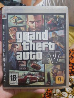 Kaset playstation 3 grand theFt Auto IV