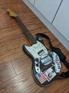 Lefty Fender Jagstang