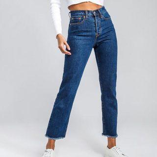 Levi's Wedgie Fit Straight Denim Jeans