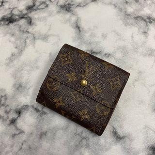 Louis Vuitton 老花短夾 美品 零錢袋 有鈔票  卡夾 瑞奇二手