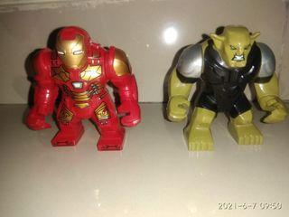 Mainan lego ironman + goblin