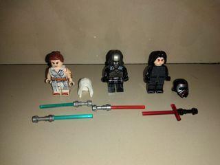 Mainan lego paket starwars minifigures