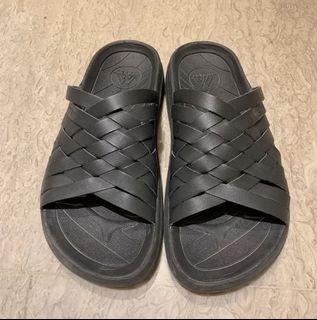美牌Malibu Sandals Zuma 編織拖鞋 黑 美國 底軟 休閒
