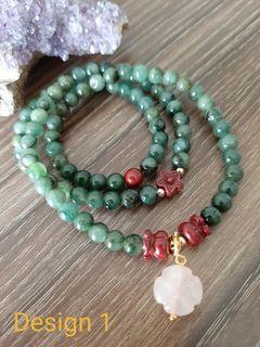 Natural Burmese Ice Jadeite Jade Bracelets