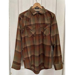 NEW Pendleton Wool Shirt - Men's Medium - Brown