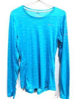 Nike dri- fit blue ( running)