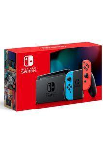 Nintendo Switch Gen 2 Red/Blue