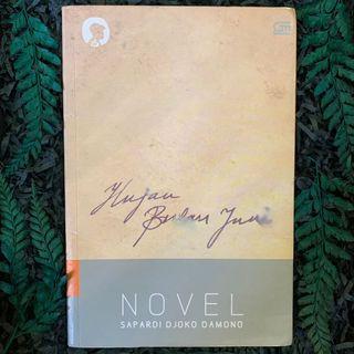 Novel Hujan Bulan Juni - Sapardi Djoko Damono (Preloved)