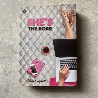 Novel She's The Boss - Wiwi Suyanti