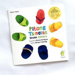 Pitong Tsinelas   Tahanan Books   English Filipino   Children's Book