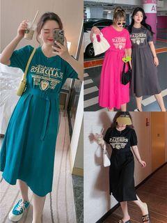 Plus Size Tee Midi Dress