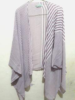 Purple outer hijabchic