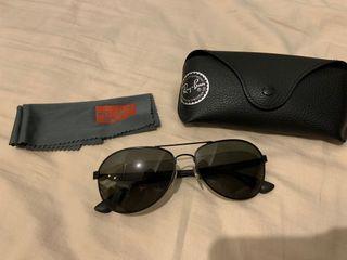 Ray Ban 男裝太陽眼鏡 90%新
