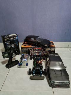 RC Tamiya TT01 Drift Spec Carbon Hop Up Parts