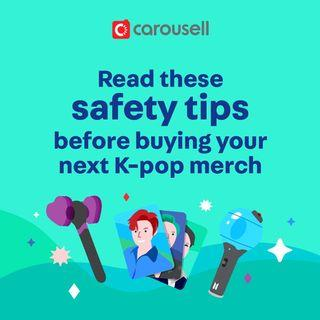 Safety tips for buying K-pop merch