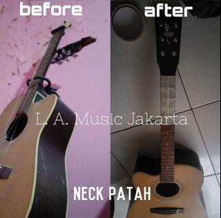 Servis Reparasi Perbaikan Gitar Benerin atau Upgrade