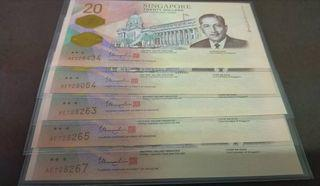 Sgd 20 note