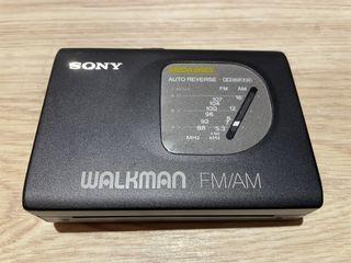 早期SONY WM-FX50錄放音機零件機  SONY WM-FX50卡式隨身聽 隨身聽零件機 故障隨身聽